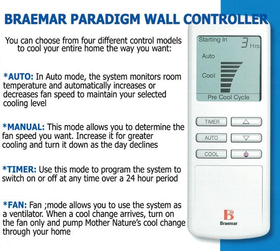 Braemar Lcb550 Paradigm Evaporative Air Conditioner 4