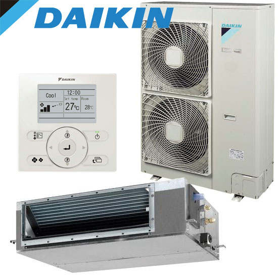 daikin ducted split system fdyq100la av premium inverter 10kw. Black Bedroom Furniture Sets. Home Design Ideas