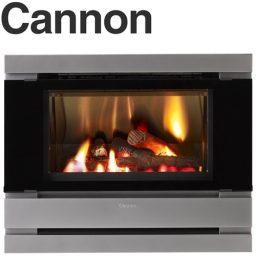 Cannon Fitzroy Platinum Inbuilt Double Glass Power Flue Included - FITZIB-PDEXP