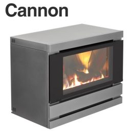 Cannon Canterbury Powerflue Heater Console Black - CONSPWRCANT-B