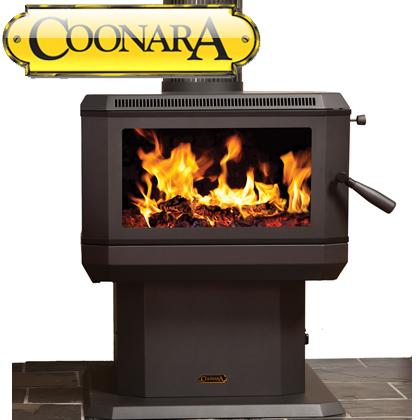 Coonara Midi Freestanding Wood Heater - MIDI