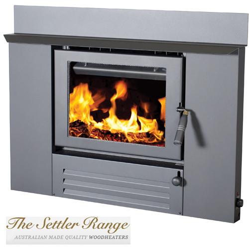 Coonara Settler Slimline I500 Inbuilt Wood Heater