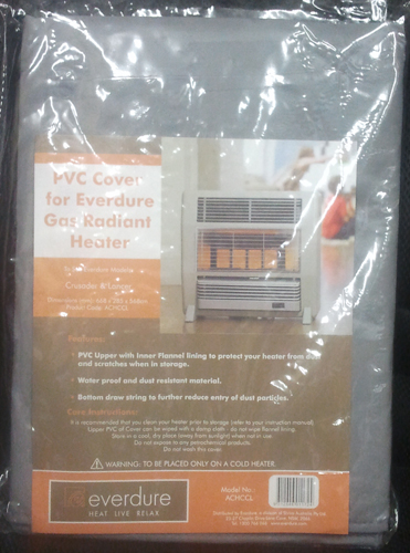 Pvc Cover For Gas Radiant Heater