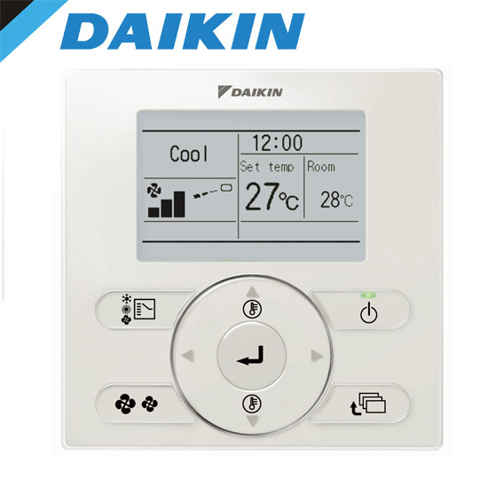 daikin brc1e62 standard controller. Black Bedroom Furniture Sets. Home Design Ideas