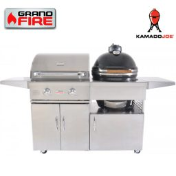"Grand Fire Classic 26"" BBQ and Kamado Joe 18"" - C26"