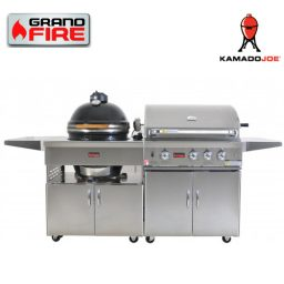 "Grand Fire Classic 32"" BBQ and Kamado Joe 18"" - C32"
