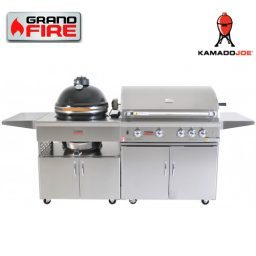 "Grand Fire Classic 38"" BBQ and Kamado Joe 18"" - C38"