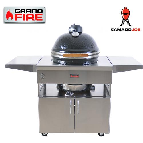 Kamado Joe 18u2033 U0026 Stainless Steel Table U2013 GFKJ