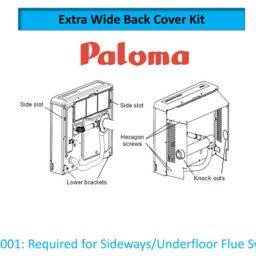 Paloma PWSK001 Wider Back Spacer Kit PRS150/250