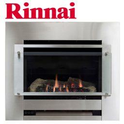 Rinnai Slimfire 252 - S/Steel Fascia