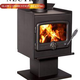 Nectre N15PTF Wood heater - Pedestal