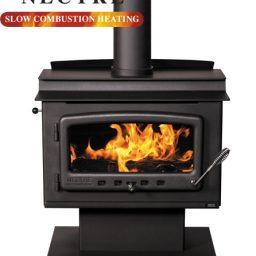 Nectre NMK1PTF Wood heater - Pedestal