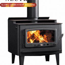 Nectre Mega NMGA30LHW Wood heater - Legs, Domestic Boiler
