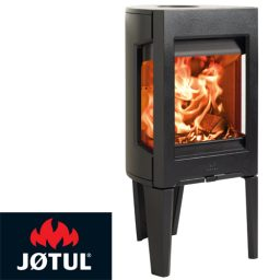 Jotul F163 Freestanding Wood Heater Black Enamel
