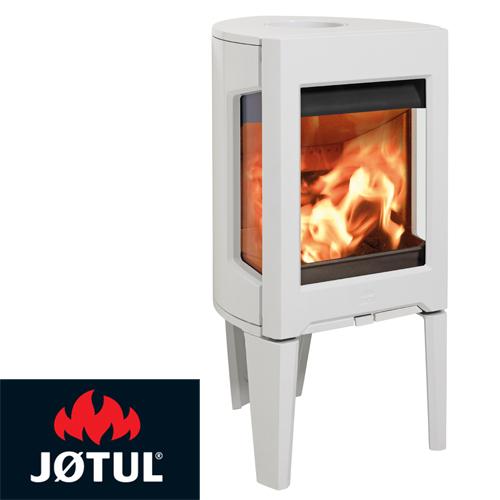 Jotul F163 White Enamel Freestanding Wood Heater Energy Hothouse