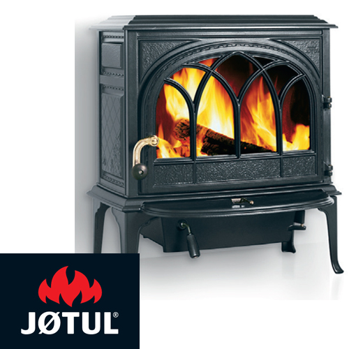 Jotul F400CB-MB Freestanding Wood Heater