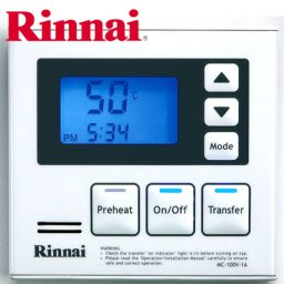 Rinnai Deluxe Kitchen Controller White