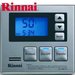 Rinnai Deluxe Kitchen Controller Silver