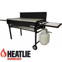 Heatlie Powder Coated Deluxe Mobile BBQ package HM1150PCP