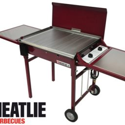 Heatlie Powder Coated Deluxe Mobile BBQ package HM700PCP