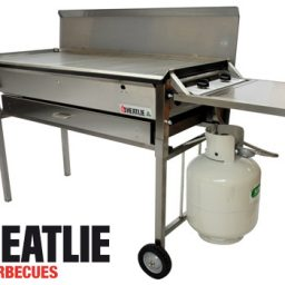Heatlie Stainless Steel Deluxe Mobile BBQ package HM1150SSP