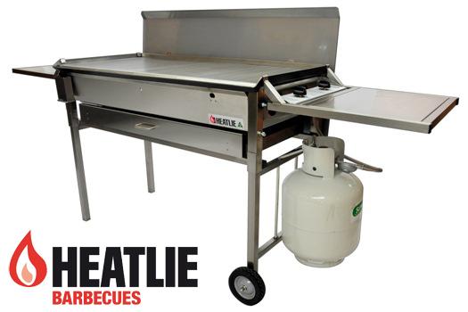 Heatlie Stainless Steel Deluxe Mobile BBQ package HM1150SSP