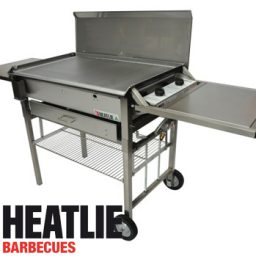 Heatlie Stainless Steel Deluxe Mobile BBQ package HM850SSP