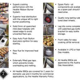 Heatlie Powder Coated BBQ basic model – HM1150PCL