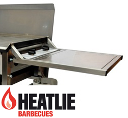 Heatlie Stainless Steel End Table