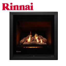Rinnai 650 Heater w Log Set