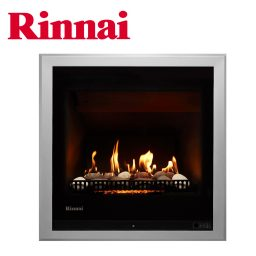 Rinnai 650 Log Heater w Stones