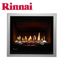 Rinnai 750 Gas Heater w Stones