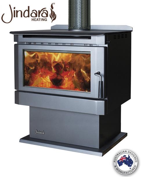 Jindara Barossa Freestanding Wood Heater Medium Energy Hothouse