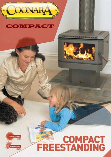 Coonara Compact Freestanding Wood Heater CCF3 – No Fan