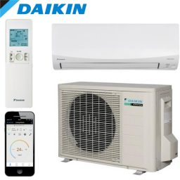 Daikin CORA FTKM71Q Wall Mounted Split System – 7.1kW Cooling Only – FREE DELIVERY*