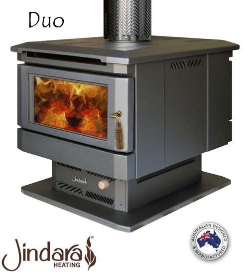 Very Jindara Duo Double Sided Wood Heater | Energy Hothouse CO05