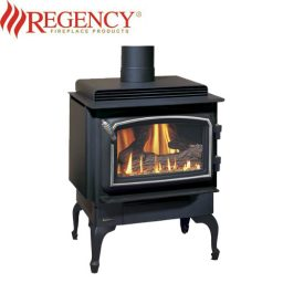 Regency F33 Gas Freestanding Heater – Nickel Door