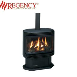 Regency F38 Medium Gas Freestanding Heater – Black