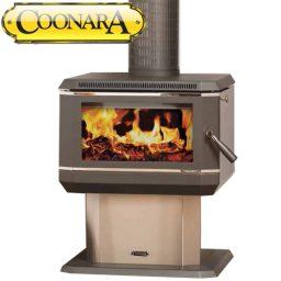 Coonara Medium Wood Heater S/Steel