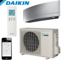 Daikin ZENA FTXJ50PS Inverter Wall Mounted Reverse Cycle 5.0Kw – SILVER – FREE DELIVERY*