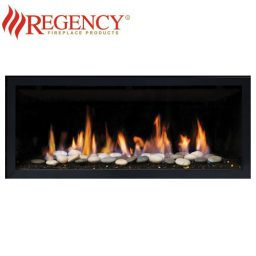 Regency GF900C (Crystals & Stones) GreenFire – Clean Edge Black Fascia
