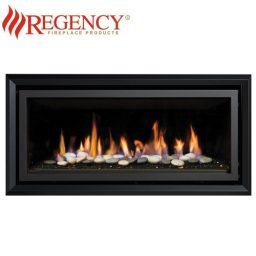 Regency GF900C (Crystals & Stones) GreenFire – Black Flat Fascia