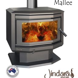Mallee-Wood Heater
