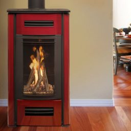 Mirage gas log fire
