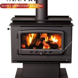 Nectre NMK2PFTF Wood heater – Pedestal & Fan