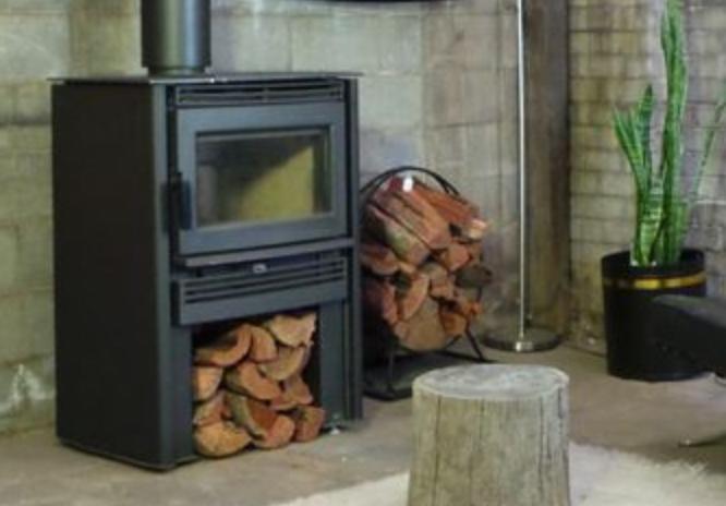 Neo wood heater - Black