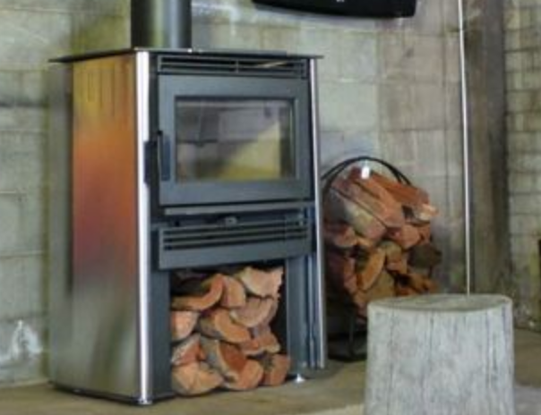 Neo wood heater - Stainless