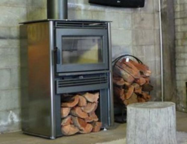 Neo wood heater - Titanium