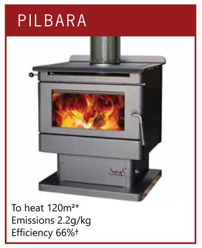 Jindara Pilbara Freestanding Wood Heater