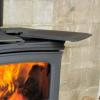 Alderlea Wood Heater Swing out trivet top
